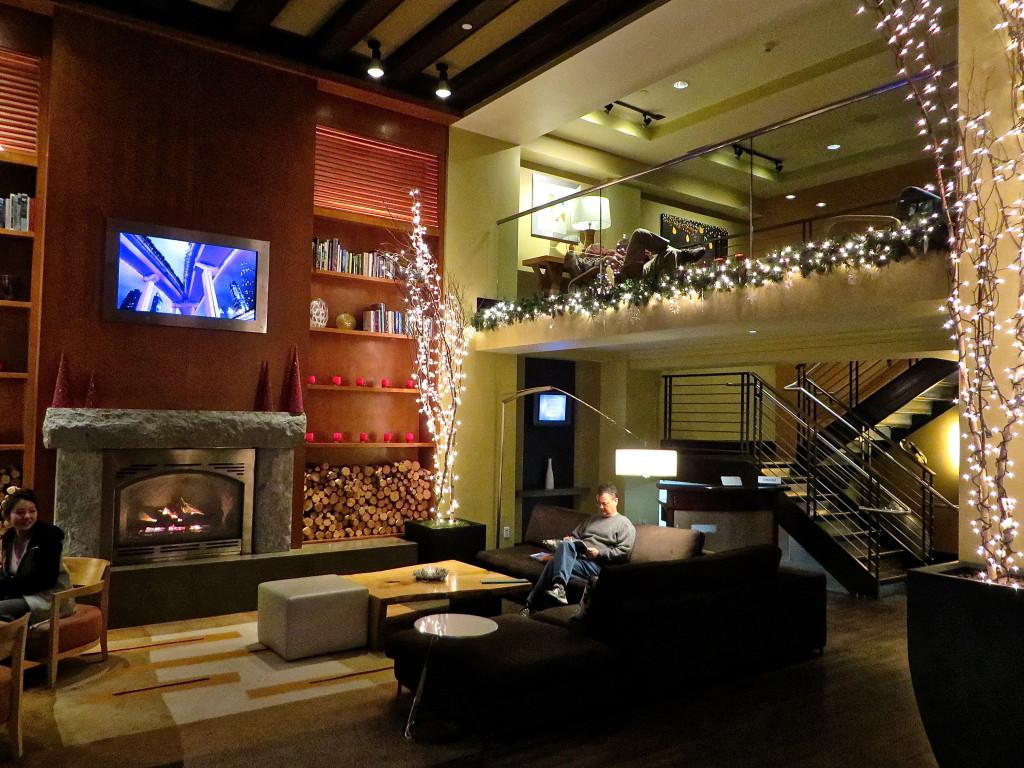 loft lobby hotel andra