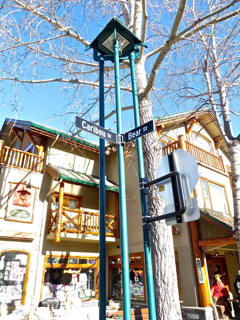 Banff Streetcorner