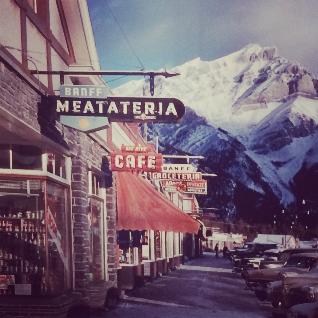 Banff Meatateria Fred Herzog