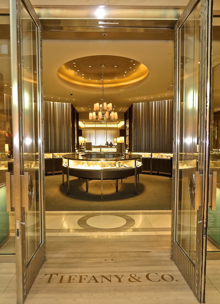 Doors of Tiffany&Co Chinook Centre