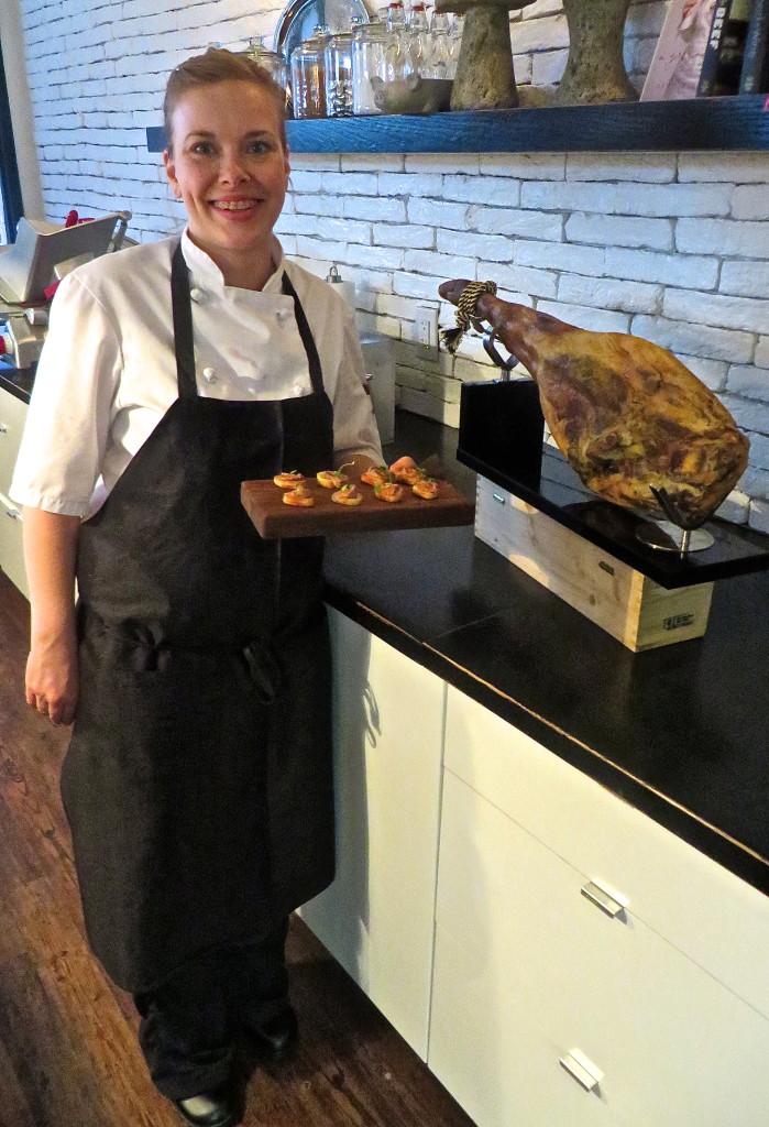 Chef Alison Bieber Black Pig Bistro