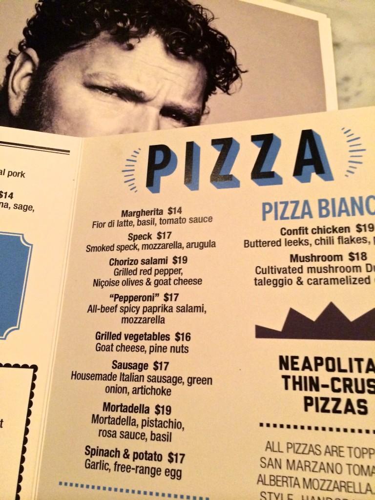 Double Zero menu