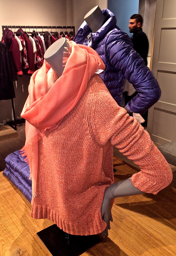 Spring Summer scarves, parkas, Max Mara
