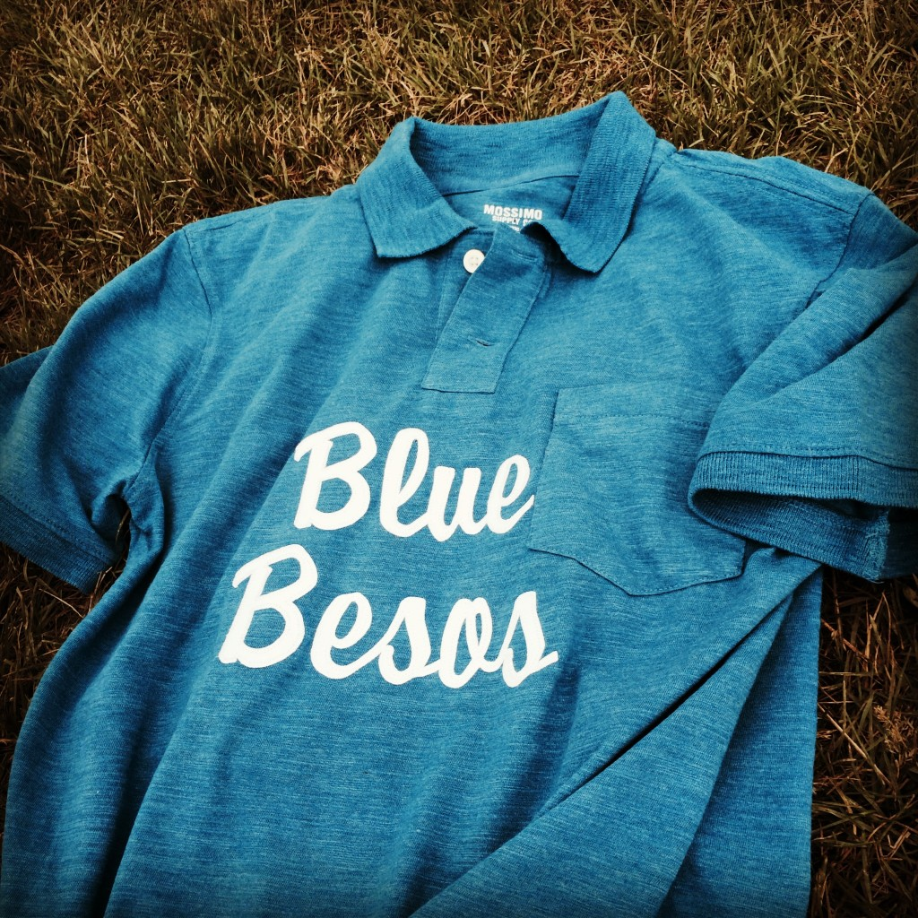 Blue Besos jersey
