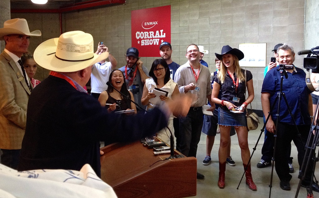 William Shatner Calgary Stampede