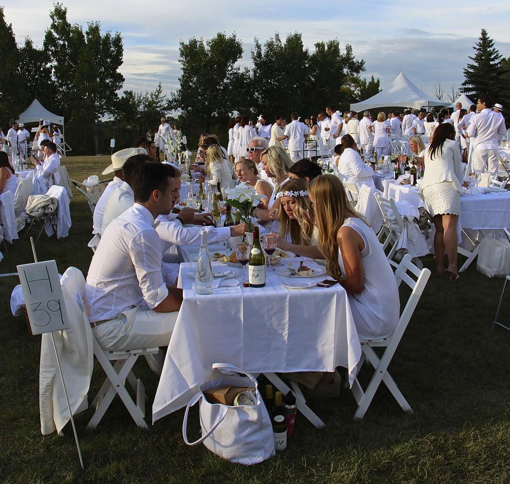Diner En Blanc Calgary