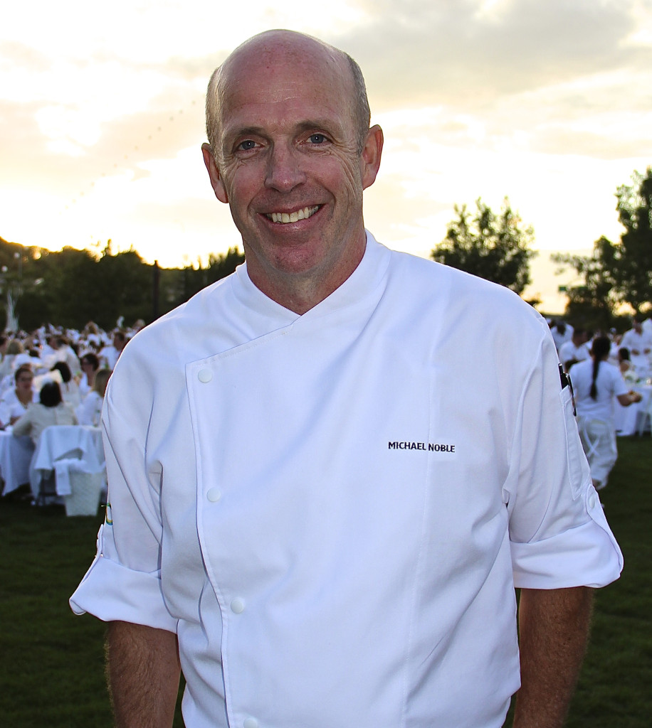 Chef Michael Noble Diner En Blanc