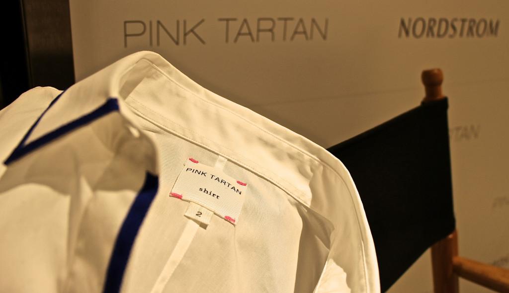 Pink Tartan label