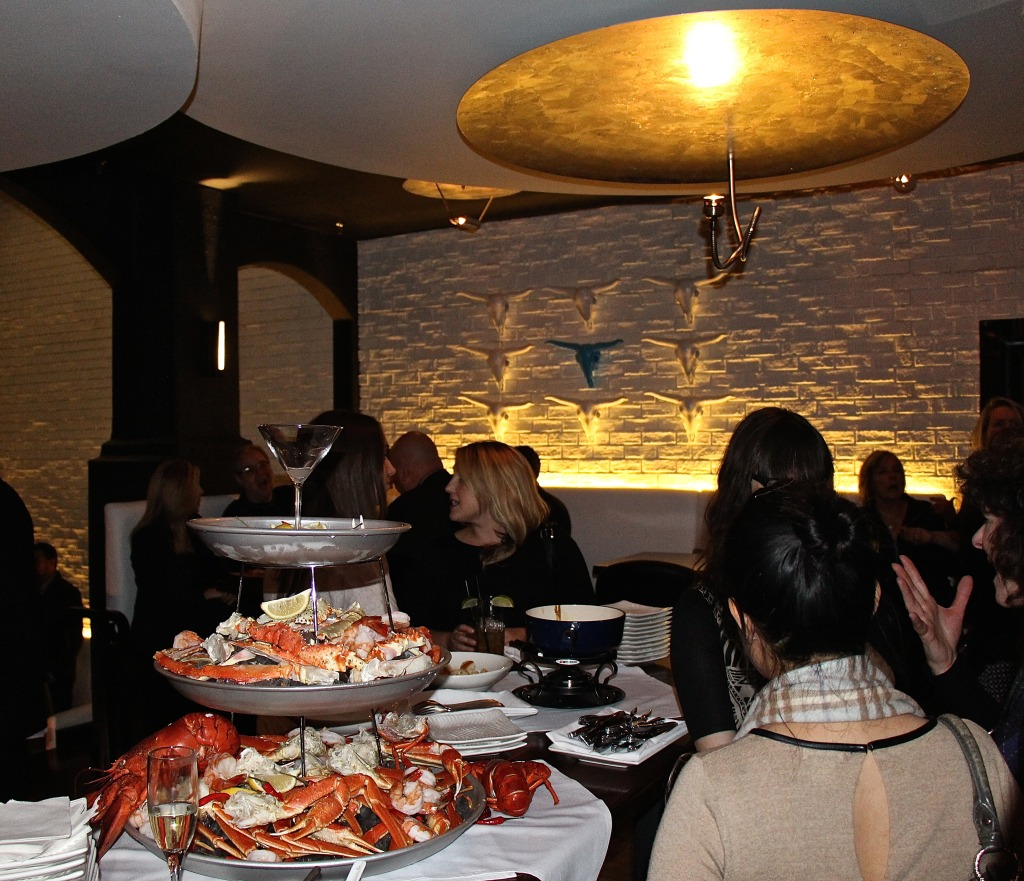 Seafood Tower at Modern Steak in Kensington