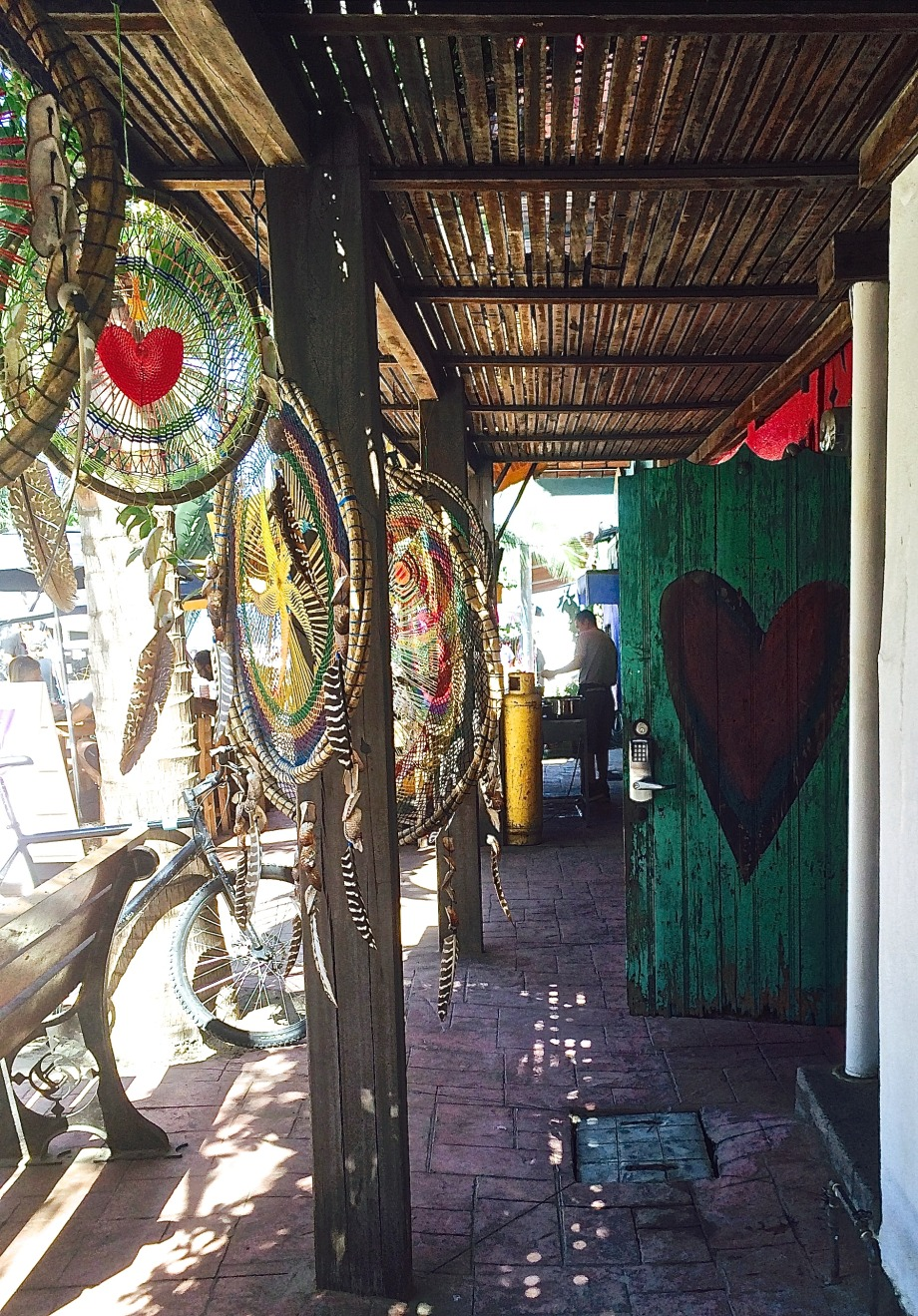 Heart Door in Sayulita