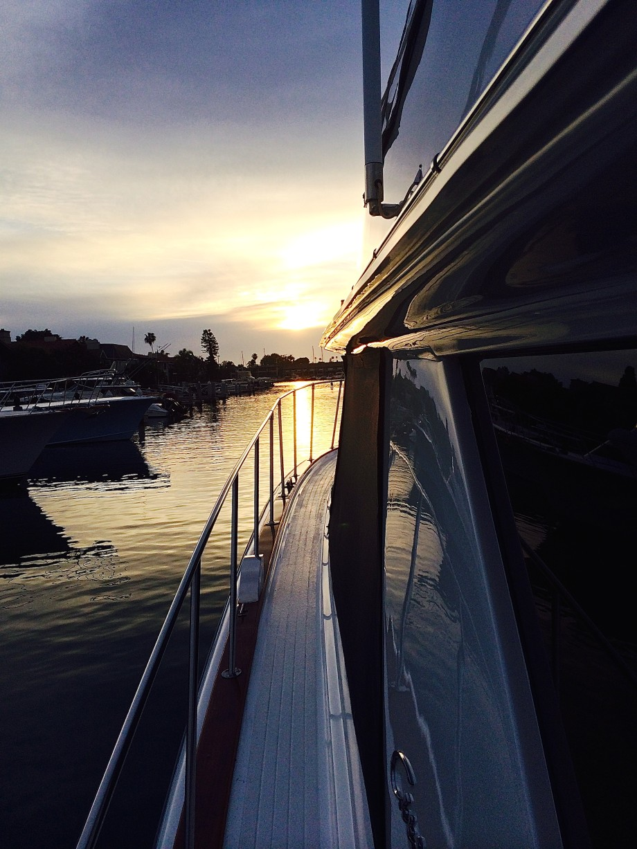 Newport Beach sunset cruise