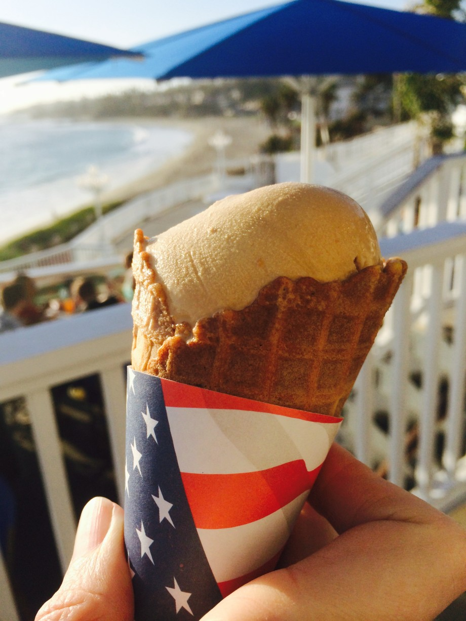 Laguna Beach ice cream