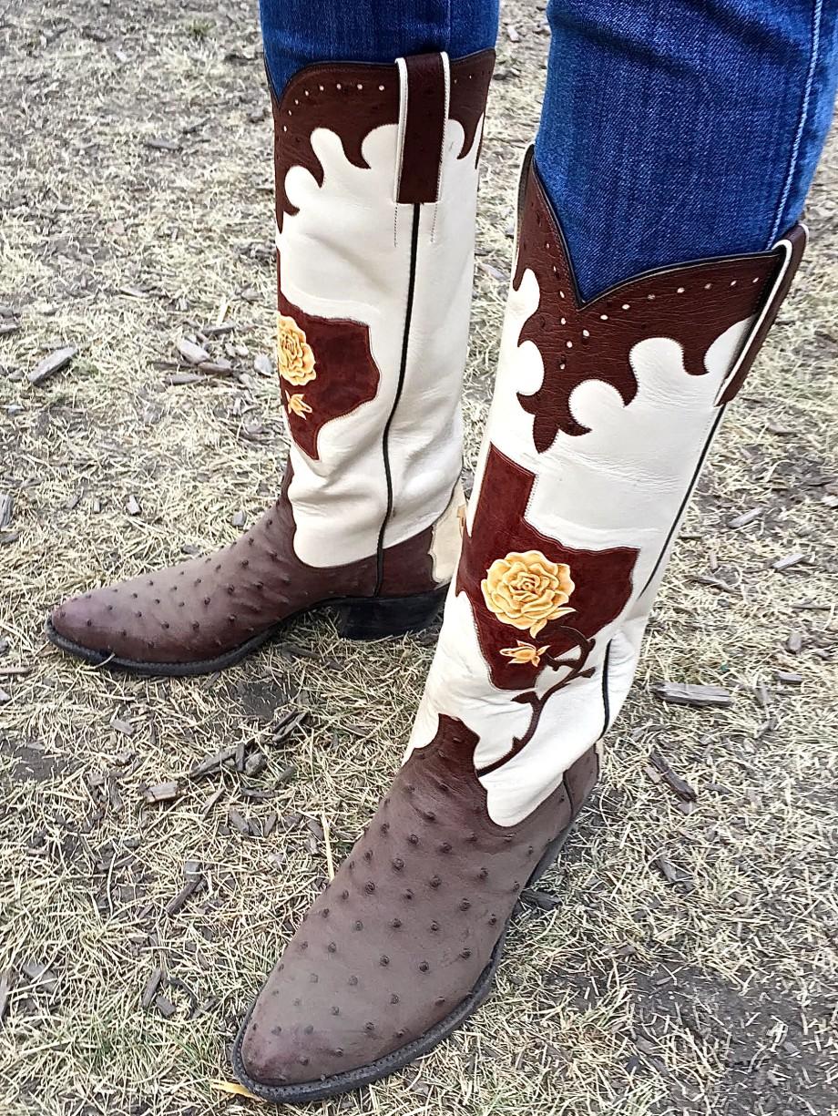 Custom Maida's Cowboy Boots