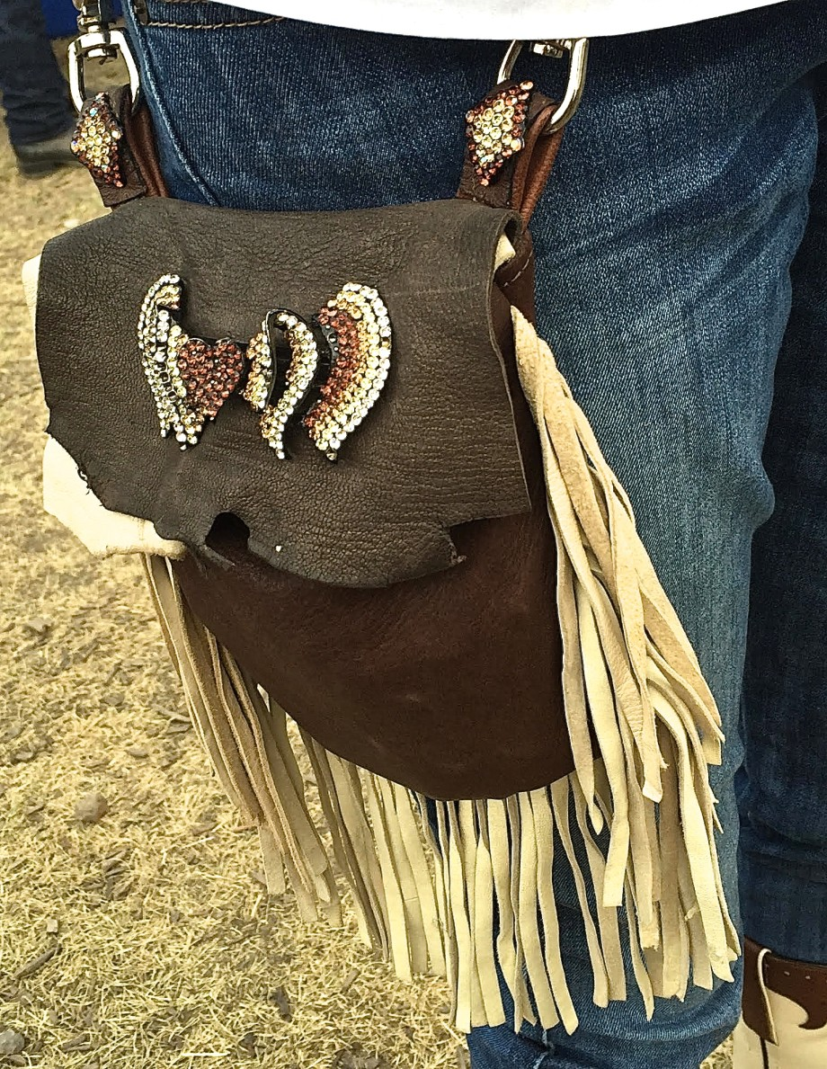 Stampede 2015 fringed bag