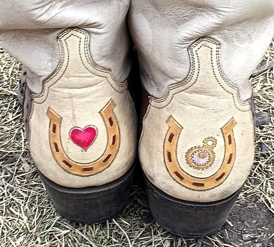 Custom Maida's Boots