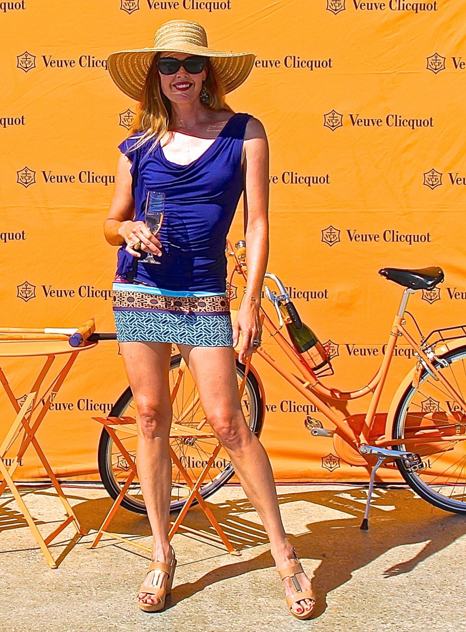 Tiffany Burns Veuve Clicquot Calgary Polo Classic 2015