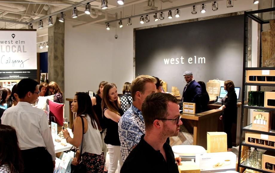 West Elm Calgary Opening