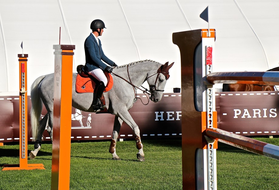 Hermes at Spruce Meadows, Ben Asselin
