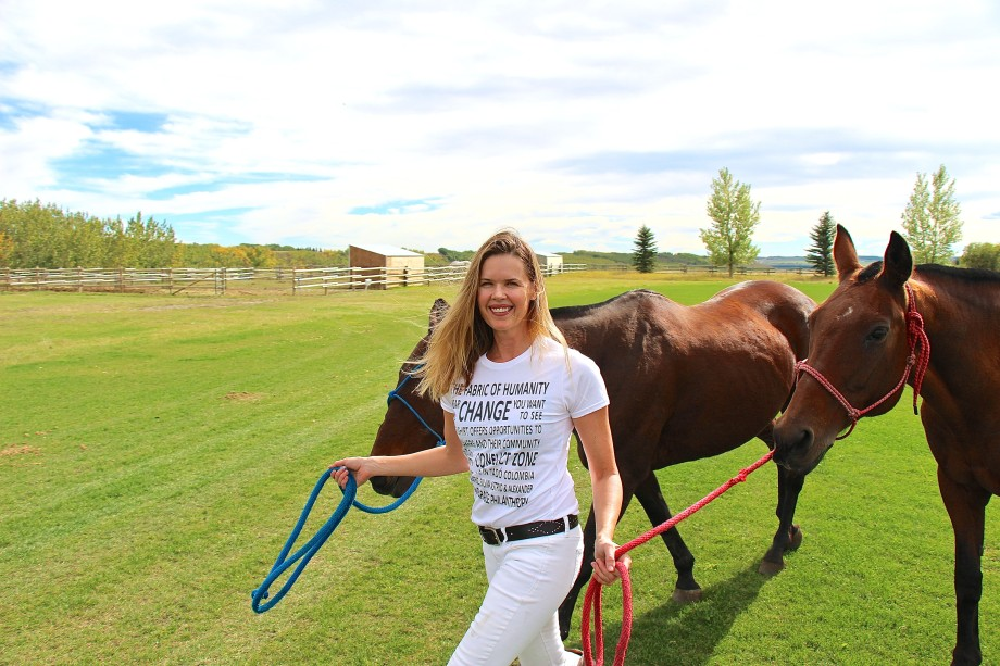 The Fabric of Humanity at Calgary Polo Club