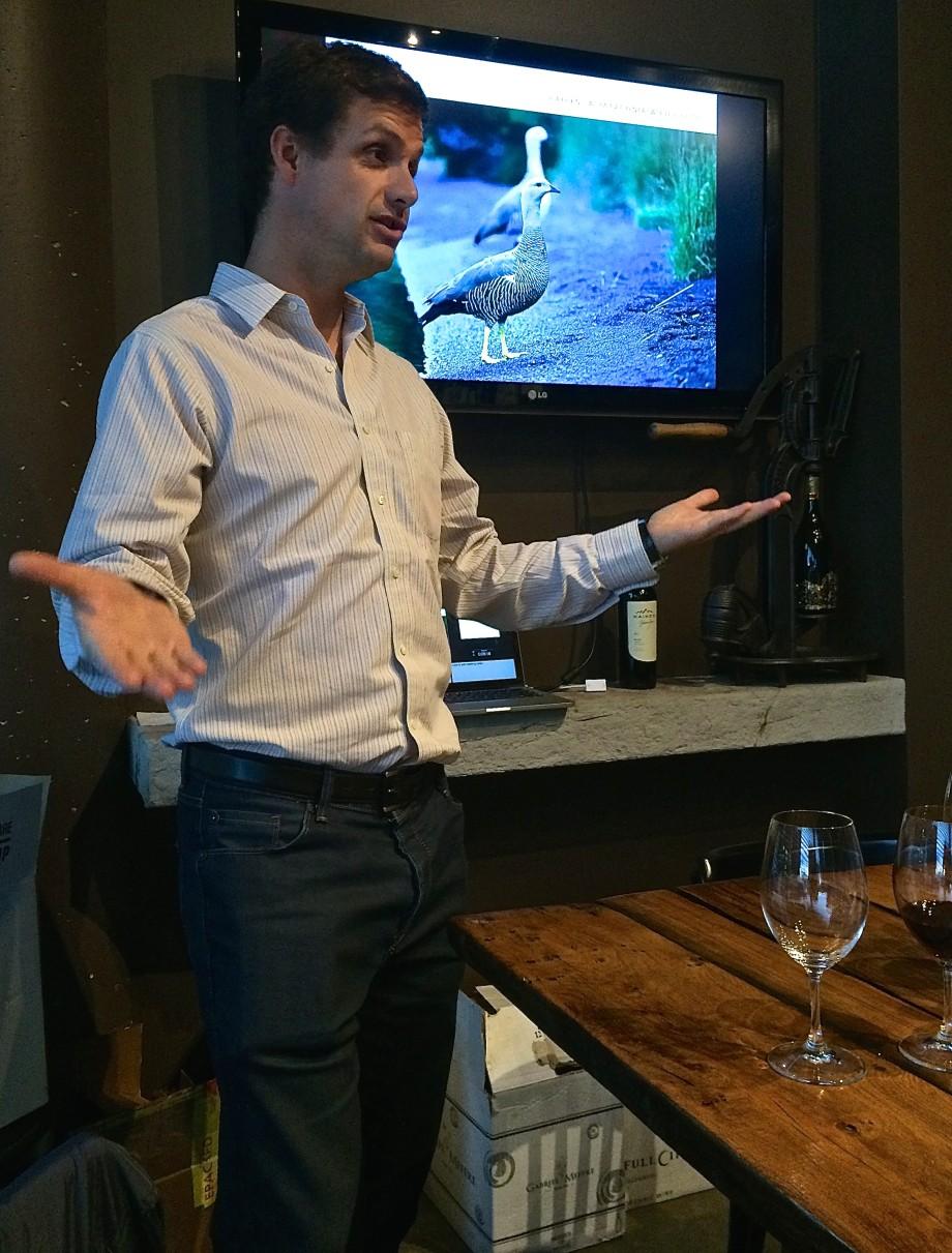 Aurelio Montes Jr Kaiken Wine Tasting Calgary