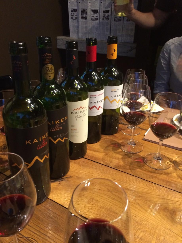 Kaiken Wine Tasting Calgary Vine Arts