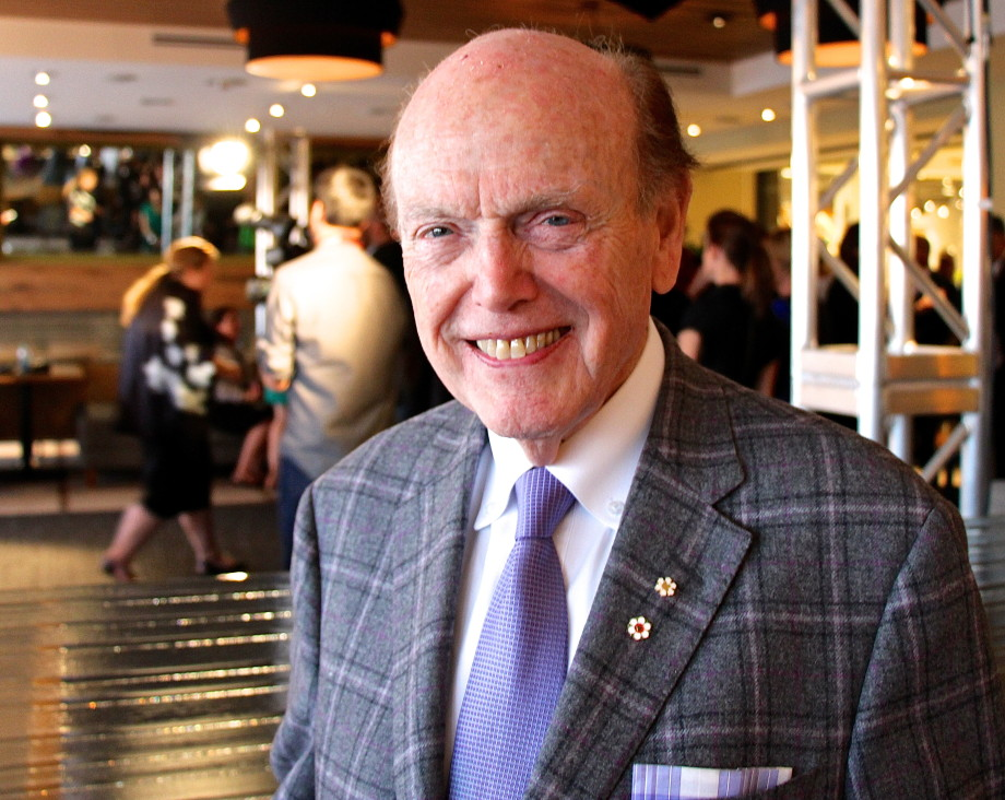 Jim Pattison photo by Tiffany Burns