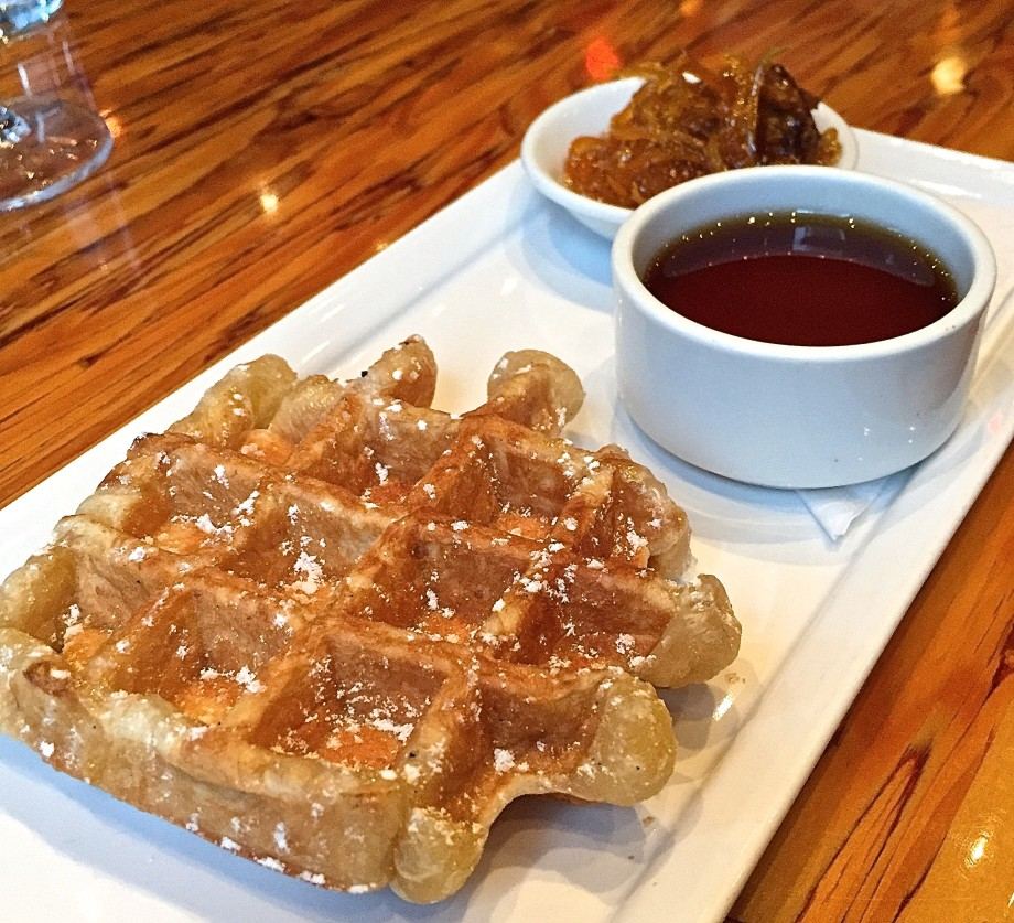 Waffles at Chambar