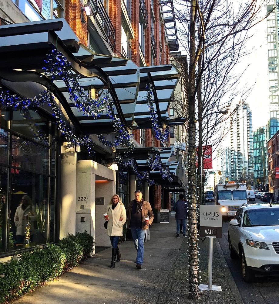 Opus Hotel Vancouver in Yaletown