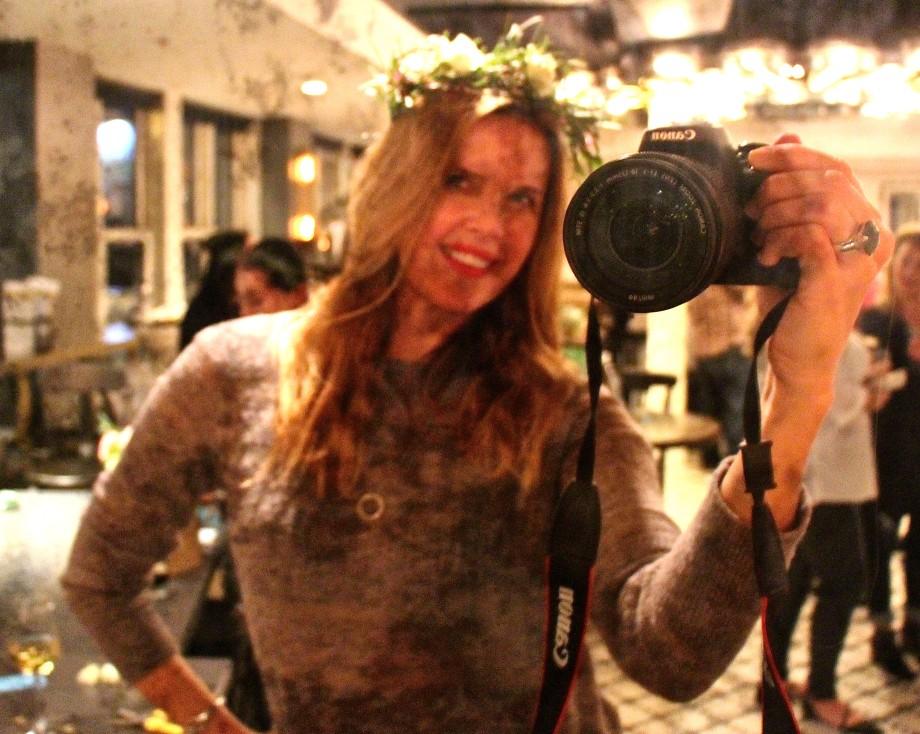 Floral Crown Selfie