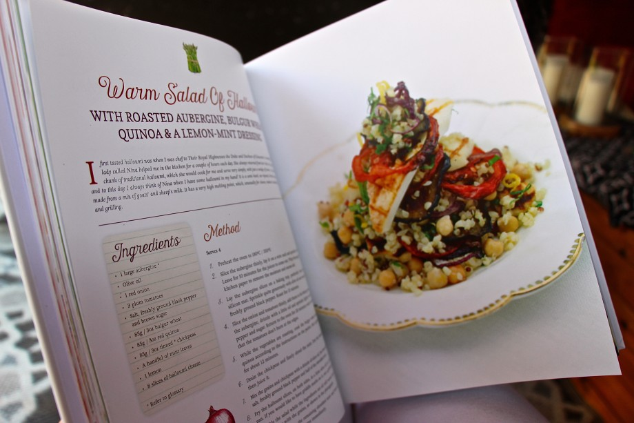 Quinoa recipe in The Royal Touch cookbook