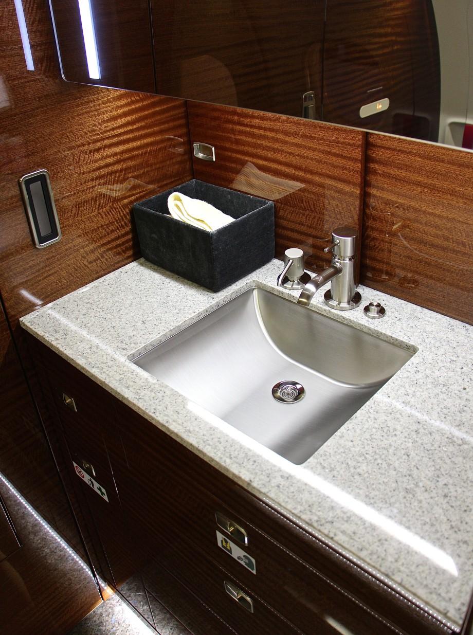 restroom in Legacy 450