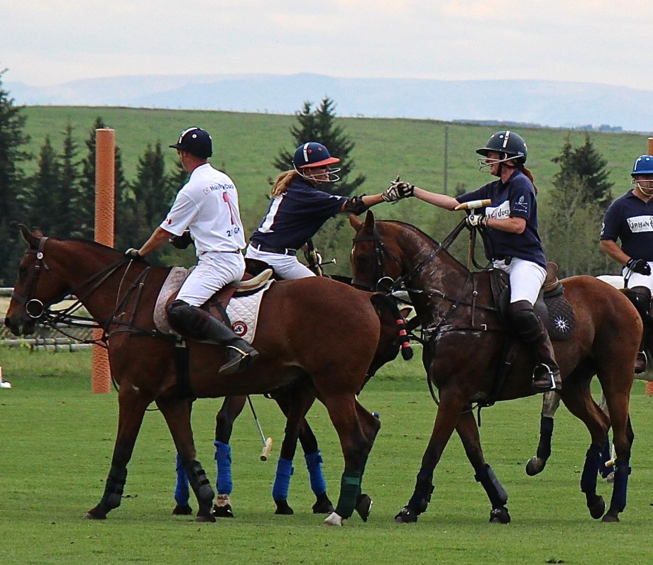 polo with friends