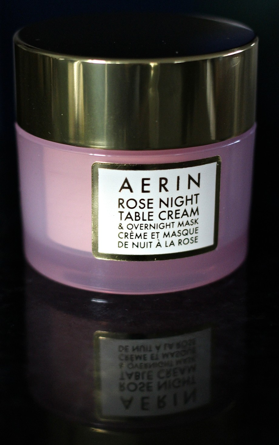 AERIN Rose Night Table Cream and Mask
