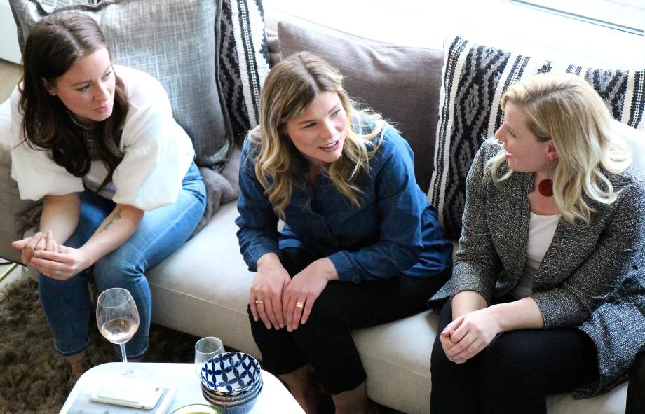 Amanda Hamilton, Kate Allen, Sarah Ward