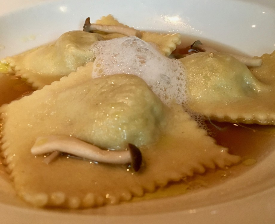 Short Rib Ravioli at Modern Steak