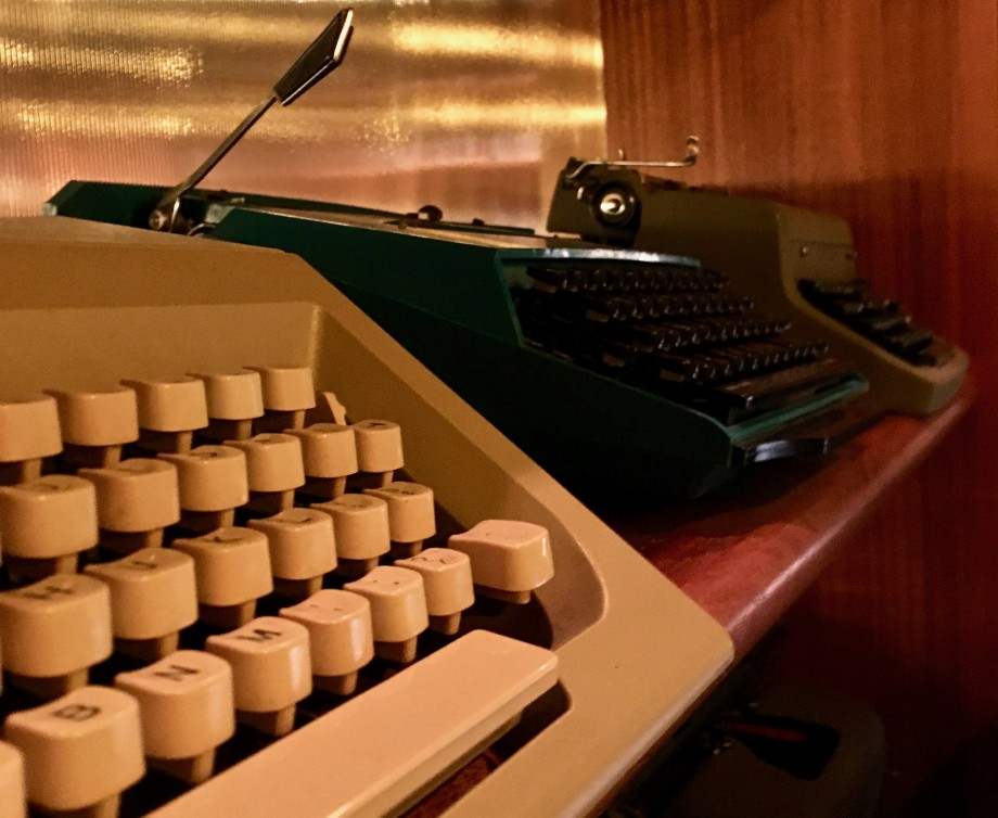 Typewriters at The Wednesday Room